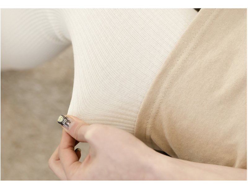 內搭褲【TPI003】素面直條紋純棉內搭褲打底褲 超彈力顯瘦褲貼身九分褲 收納女王