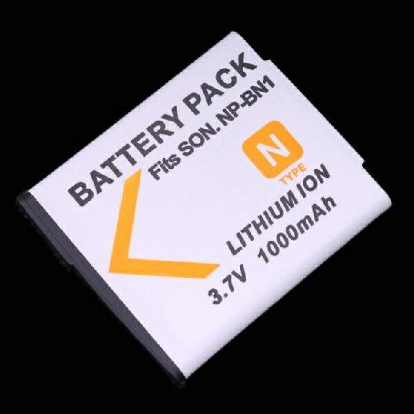 SONY NP-BN1 相機電池 數位相機 鋰電池 3.7V 1000mah 適用T99 / TX9 / TX7C / TX5 / WX5C等(77-070) 2