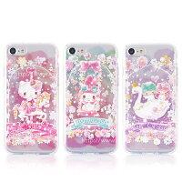 美樂蒂手機配件推薦到【Sanrio三麗鷗】繁花系列 彩繪空壓保護套 iPhone 7(4.7吋)就在力碁科技數位3C通訊批發館推薦美樂蒂手機配件