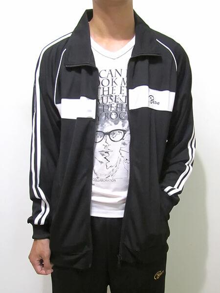 sun-e台灣製吸濕排汗薄外套、運動外套、單層薄外套、防曬外套、手臂配色織帶(310-7789-08)深藍色、(310-7789-21)黑色、(310-7789-22)深灰色 尺寸:L XL(胸圍:44~46英吋)(男女可穿) [實體店面保障] 8