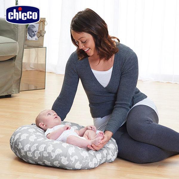 義大利【Chicco】Boppy鳥巢型新生兒躺枕