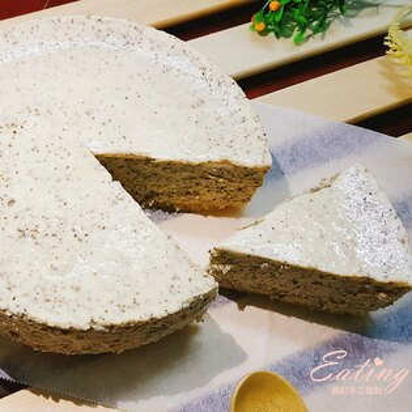 【伯爵重乳酪蛋糕6吋】濃郁茶香 自製杏仁餅乾底 用料實在
