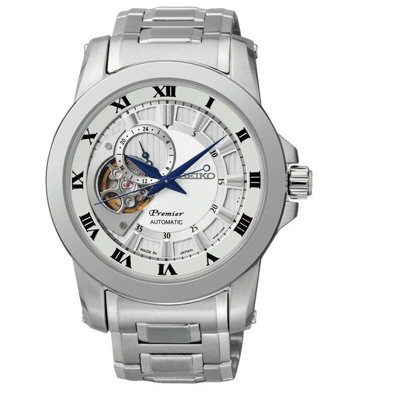 SEIKO Premier 24小時顯示開芯機械錶/4R39-00L0S/SSA213J1