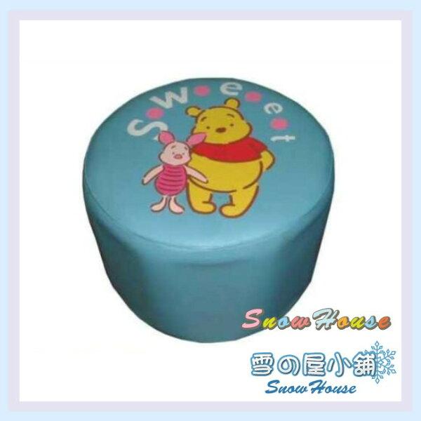 ╭☆雪之屋居家生活館☆╯P127-08維尼圓筒椅-藍兒童沙發小沙發休閒椅和室椅造型椅
