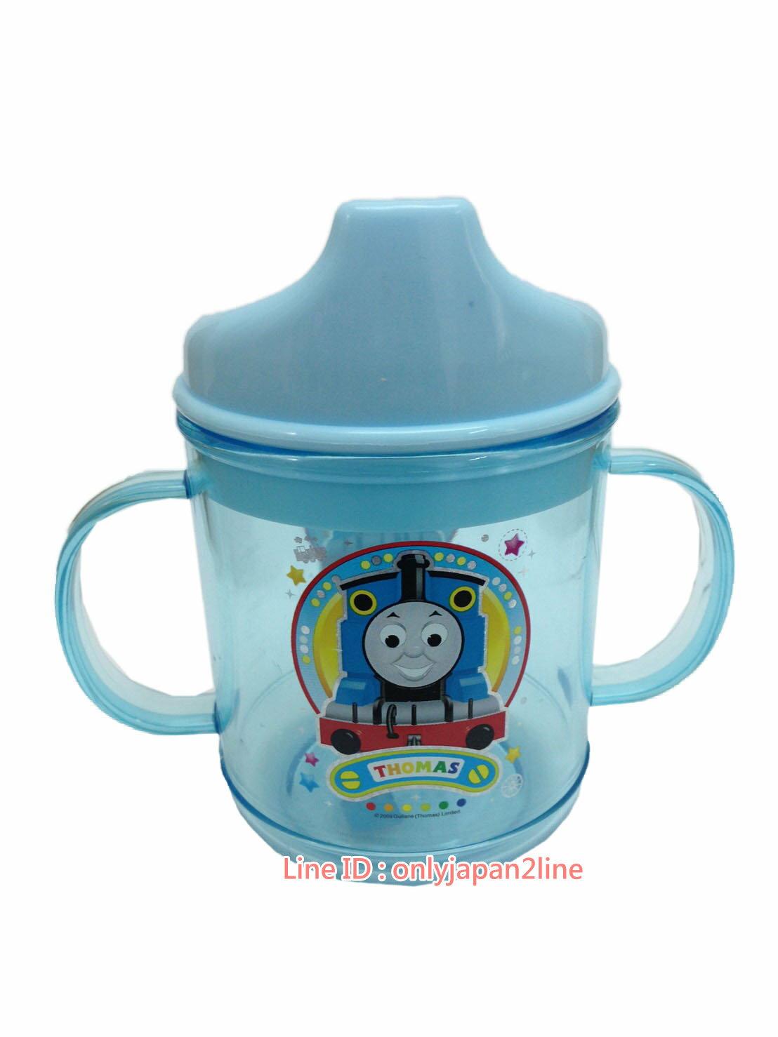 【真愛日本】 17021600010雙耳水杯-湯瑪士藍  THOMAS & FRIENDS 湯瑪士 小火車  水杯 學習杯