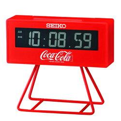 【時光鐘錶】SEIKO/精工鐘 可口可樂Coca-Cola 限量 鬧鐘 計時(QHL901R)