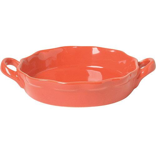 《NOW》陶製布蕾烤盤4入(紅圓12.5cm)