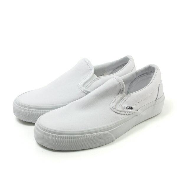 VANS Classic Slip-On 懶人鞋 白 男女款 C478039 no327