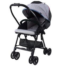 【麗嬰房】Combi Neyo 輕量雙向嬰兒手推車-冷豔灰