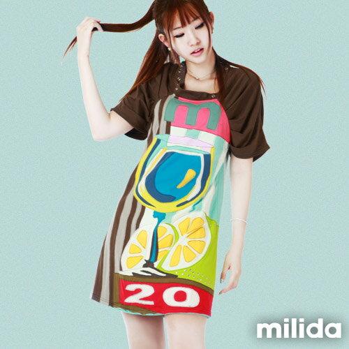 【Milida,全店七折免運】公主袖派對洋裝 0