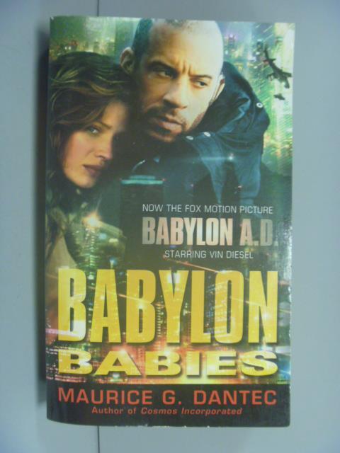 ~書寶 書T1/原文小說_NKO~BABYLON BABIES_Dantec
