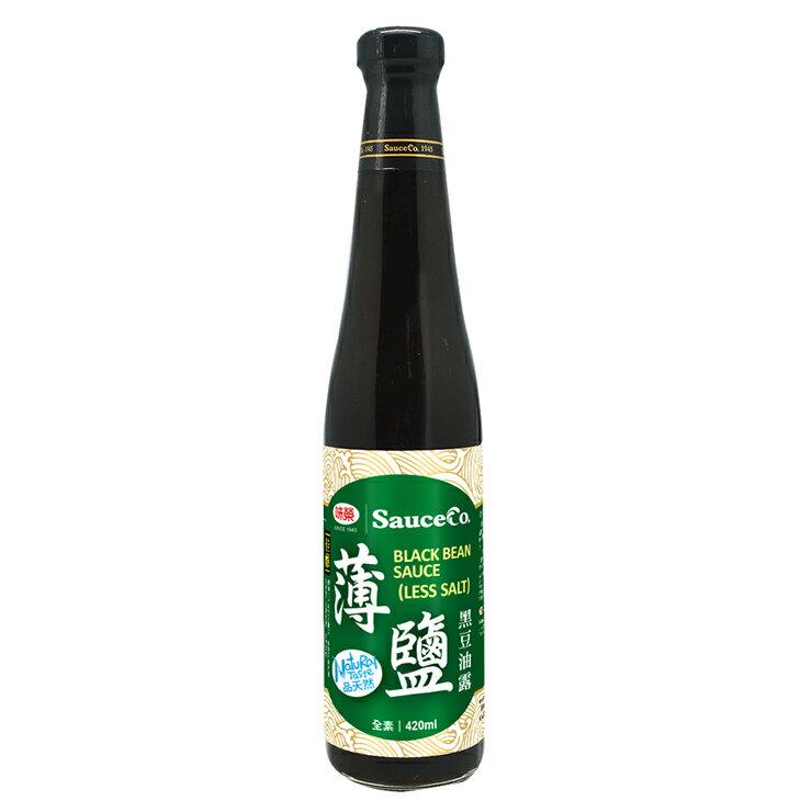 【味榮】佳釀級薄鹽黑豆壺底蔭油露420ml - 限時優惠好康折扣