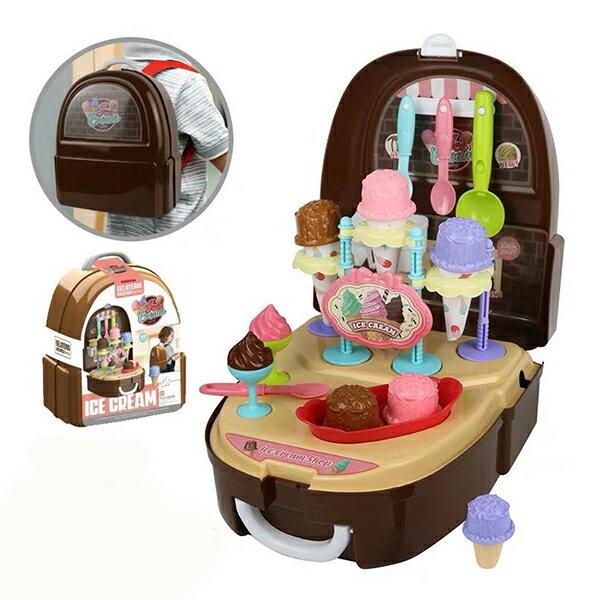 【崑山玩具x日韓精品】兒童甜品背包/扮家家酒/仿真玩具組