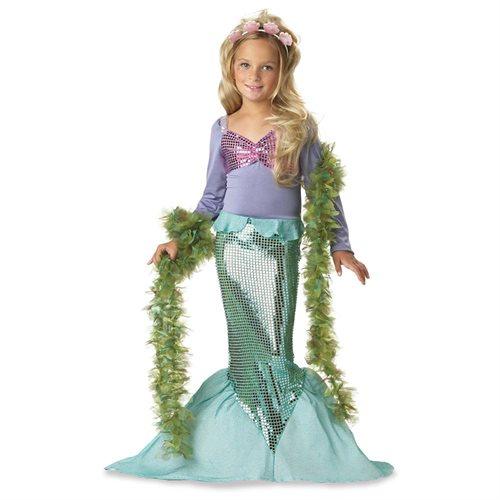 Little Mermaid Sequence Kids Costume size Medium 8-10 0