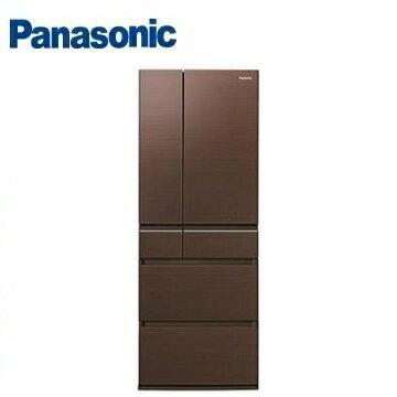 Panasonic國際牌NR-F603HX六門變頻玻璃冰箱(600L)(翡翠棕)※熱線:07-7428010