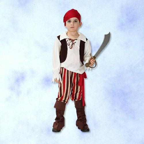天姿舞蹈戲劇表演服飾特殊造型館:GTH-1652紅巾小海盜化裝舞會表演造型派對服(S.M.L.XL)
