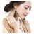 日本CREAM DOT  /  リング 指輪 レディース オープンリング 10号 ファッションリング クロスデザイン 大人 上品 エレガント 華奢 シンプル フェミニン ゴールド シルバー  /  qc0421  /  日本必買 日本樂天直送(990) 3