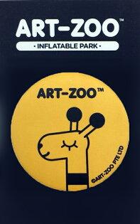 ART-ZOO特展-大胸章-長頸鹿款