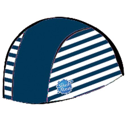 【悅兒樂婦幼用品館】Splash About 潑寶 UV Swim Hat 抗UV泳帽-海軍藍/藍白條紋