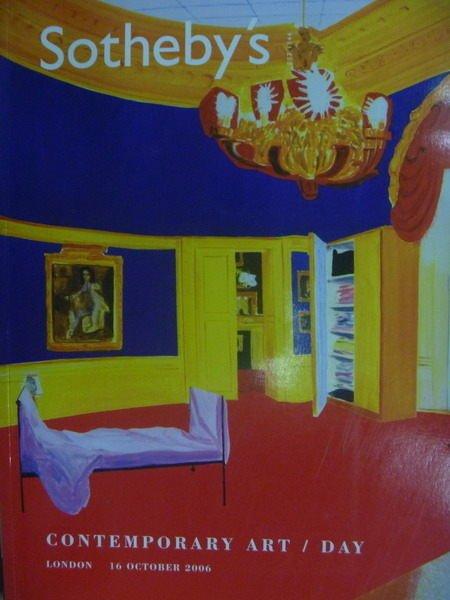 ~書寶 書T8/收藏_ZGU~Sothebys_Contemporary Art Day_