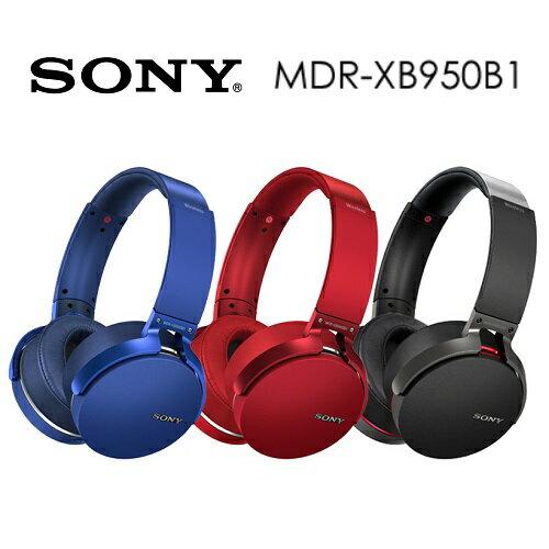 【免運費】SONY MDR-XB950B1 無線NFC耳罩式藍牙耳機 (公司貨)