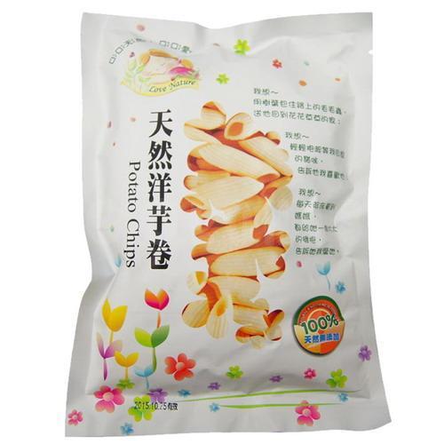 天然洋芋卷(純素)50g【德芳保健藥妝】4710425203370