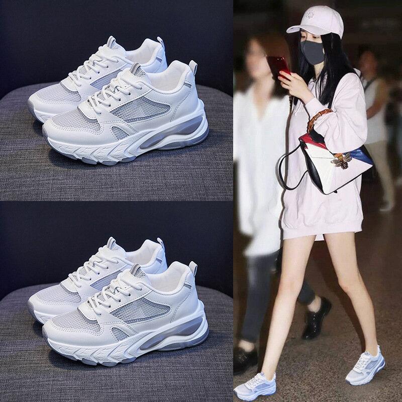 透氣老爹女鞋2021夏季新款韓版ins運動鞋女增高街拍潮休閒鞋FD13