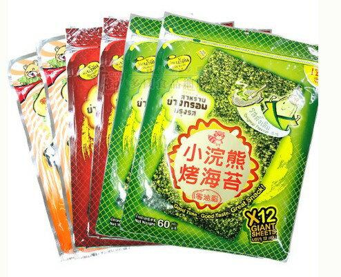 泰國 小浣熊烤海苔 素食 康熙來了[TH52600274] 千御國際 - 限時優惠好康折扣