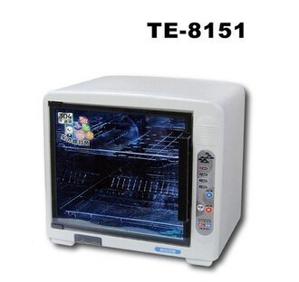 東龍二層紫外線抑菌烘碗機TE-8151