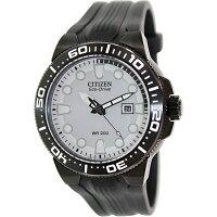 Citizen Men's Eco-Drive BN0095-08A Black Rubber Eco-Drive Diving Watch