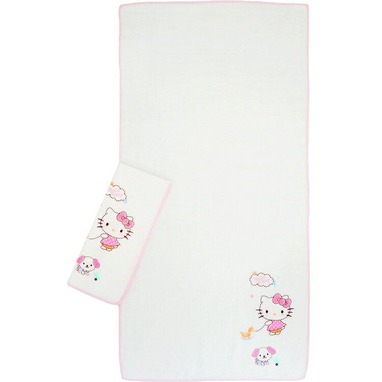 佳美 - Hello Kity凱蒂貓印花澡巾(2入) 0