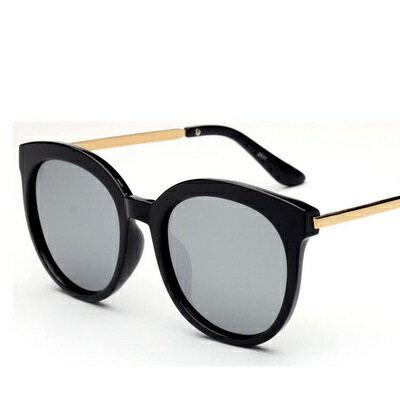 太陽眼鏡偏光墨鏡~ 潮流黑框 男女眼鏡 6色73en68~ ~~米蘭 ~