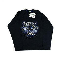【KENZO】虎頭長袖上衣(深藍) F655SW1194XD 77