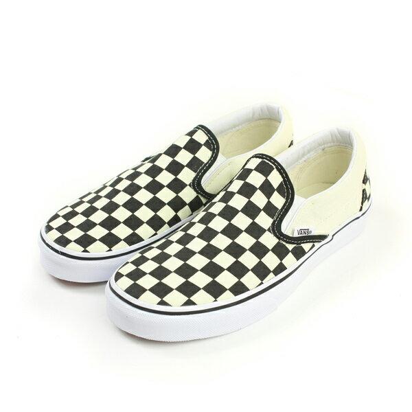 VANS Classic Slip-On 懶人鞋 滑板鞋 黑色/白 男女鞋 no316