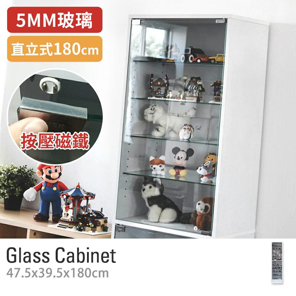 收納櫃 展示櫃【R0059】華倫180cm玻璃櫃/外銷日本款MIT台灣製 完美主義