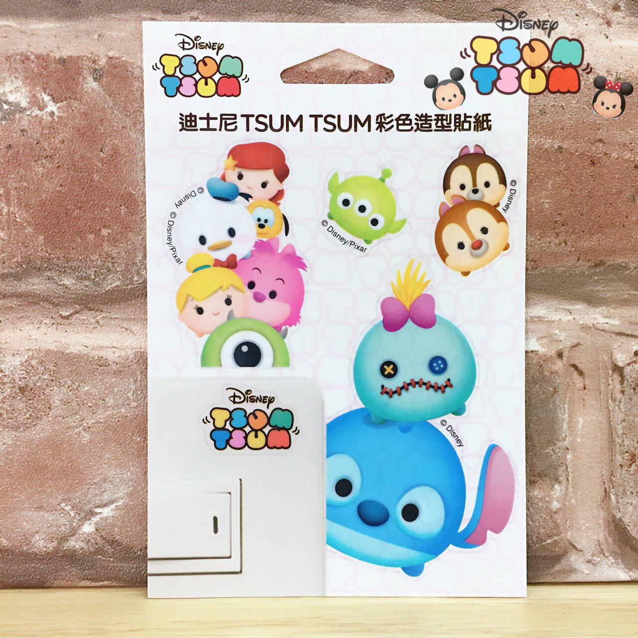 【唯愛日本】17062300011 迪士尼開關貼-TSUM史迪奇 迪士尼 星際寶貝 醜丫頭 裝飾貼紙 居家生活