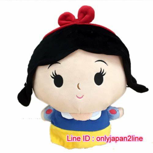 【真愛日本】16101000056Q版公主娃-30CM白雪公主  迪士尼公主 娃娃 抱枕 絨毛 公仔