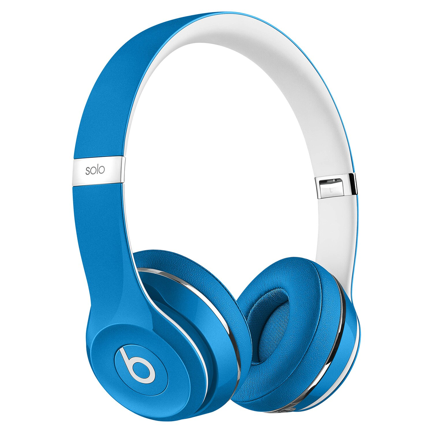 Beats by Dr. Dre Solo2 Luxe Edition On-Ear Foldable Stereo Headphones - Blue 0