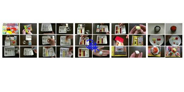 (日本) Kracie 可利斯 手工diy 糖果-壽司組合 1盒 28.5 公克 特價 118 元【4901551353842】( 知育菓子創意DIY壽司小達人 壽司手工糖果) 1