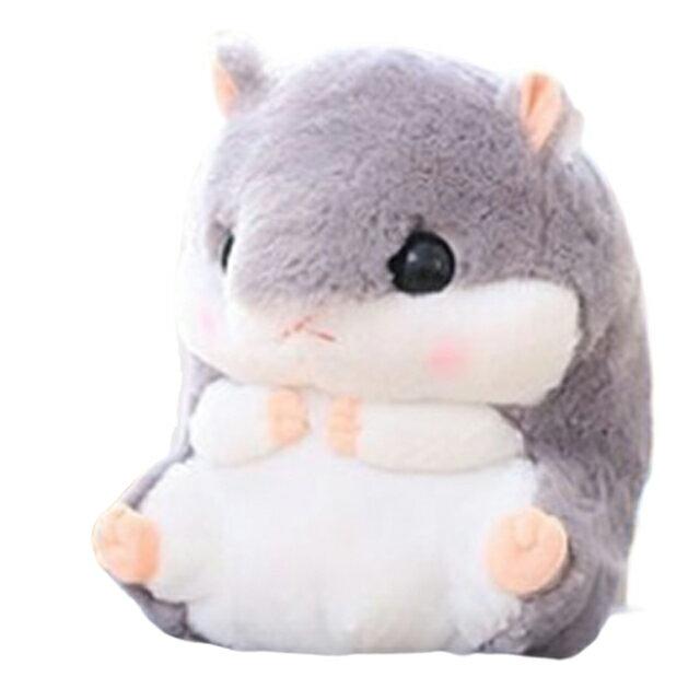 可愛倉鼠兩用抱枕毯 毛毯 絨毛靠枕 娃娃 黃金鼠 免運 1