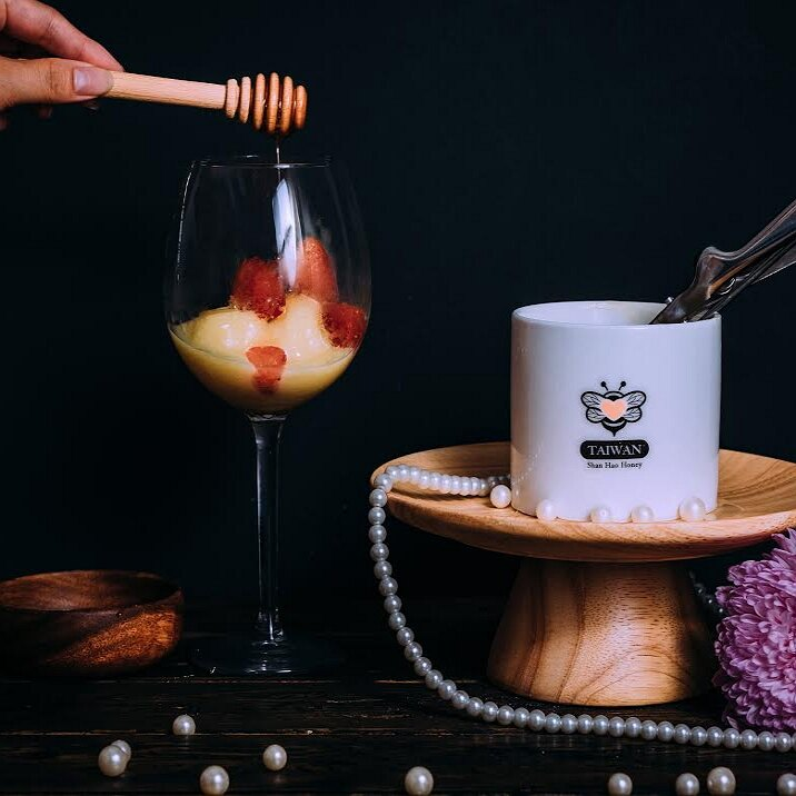 【山好蜜蜂蜜】頂級皇家蜂王漿 蜂王乳 手工鮮採 美容聖品 500g