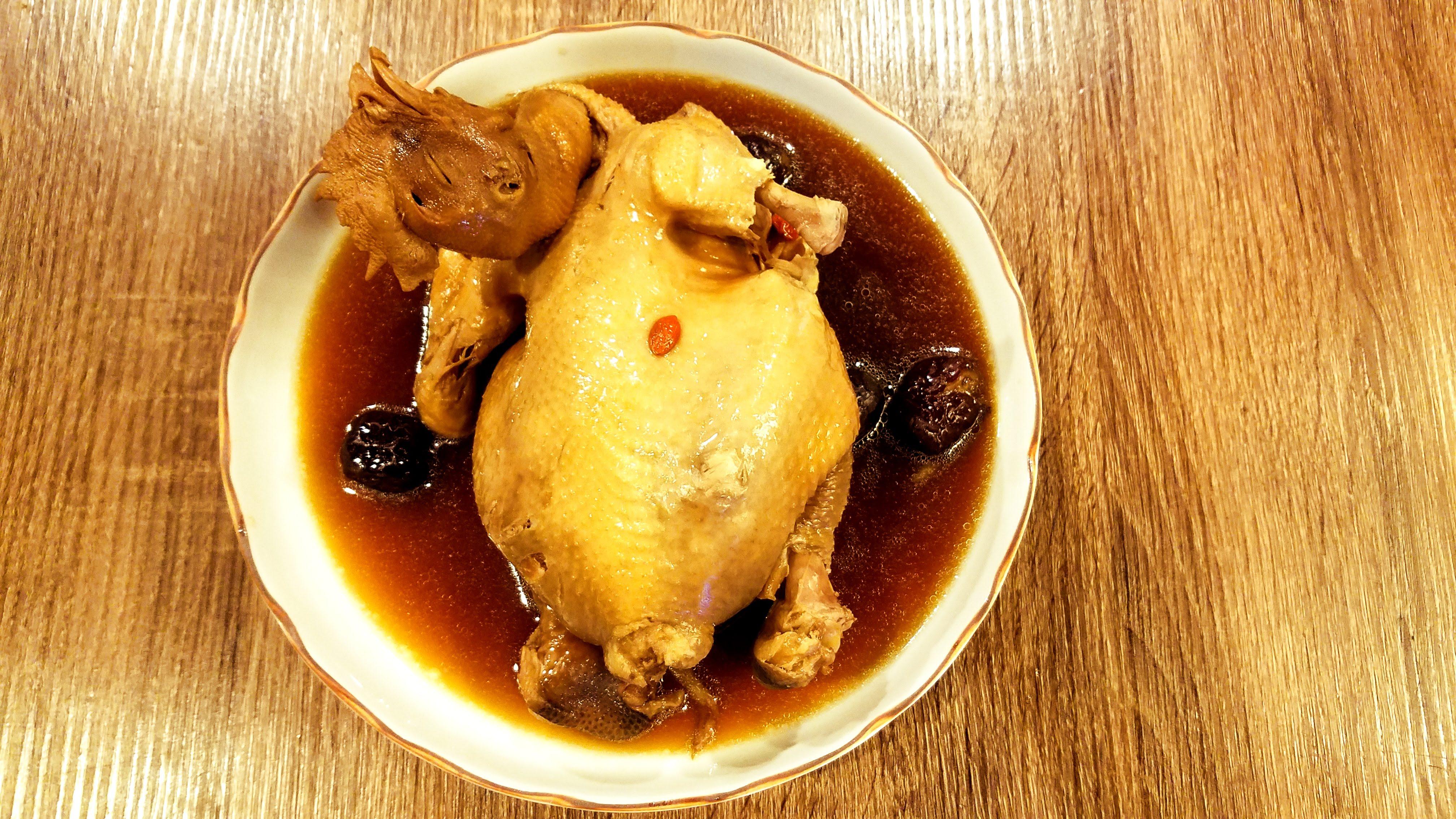 古味黑蒜燉土雞-【利津食品行】辦桌 宴席 湯品 燉品 土雞 養生 古早味 冷凍食品