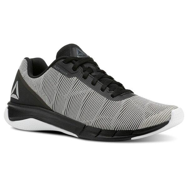 ReebokFLEXWEAVE®RUN男鞋慢跑訓練緩衝針織鞋面灰白【運動世界】CN5097