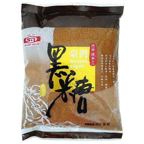 新南糖廠 臺灣黑砂糖(紅糖) 450g【康鄰超市】