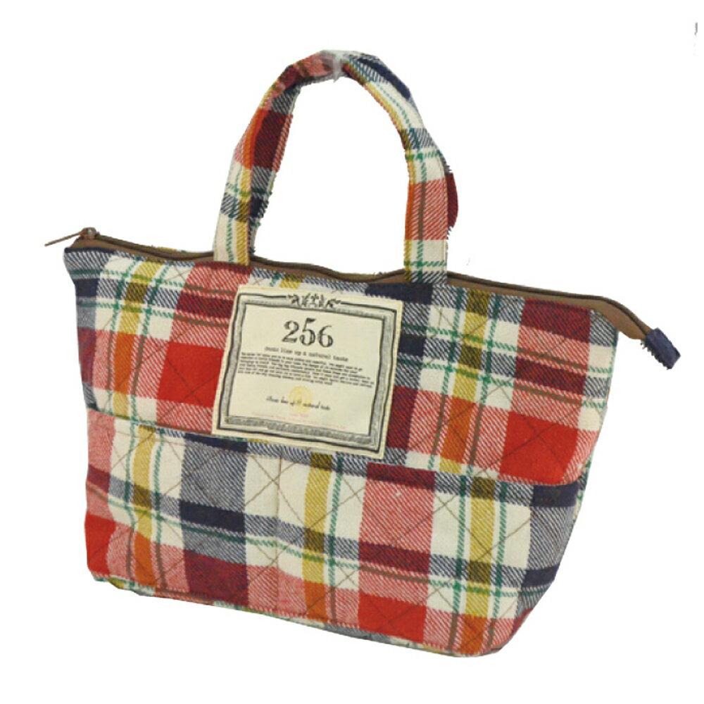 【DESTINO STYLE】256經典格紋保溫午餐袋 0