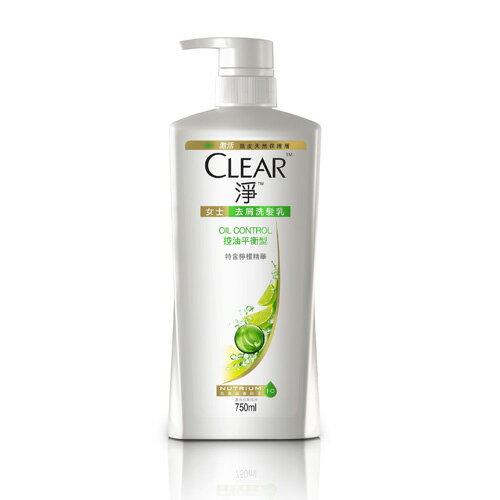 CLEAR淨洗髮乳-控油平衡750ml【愛買】