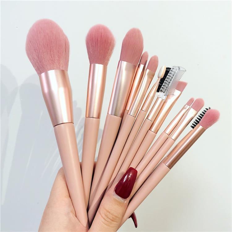 李佳琦推薦化妝刷套裝腮紅粉底眼影散粉高光唇刷遮瑕美妝刷子工具