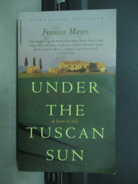 【書寶二手書T2/原文小說_MNH】Under the tuscan sun_Frances mayes