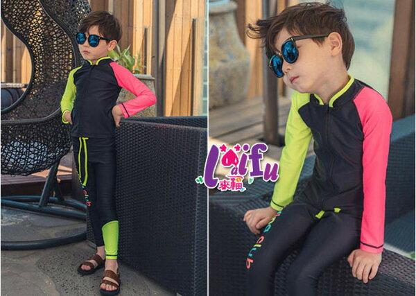 來福泳衣,D3兒童泳衣紛麗長袖兒童泳衣小朋友游泳衣正品,售價699元