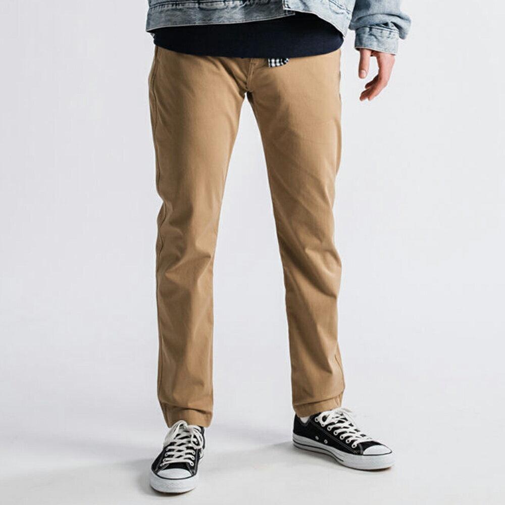 Levis 男款 Chino卡奇休閒褲  /  上寬下窄修身窄管版型  /  防盜暗袋  /  超彈力布料 4